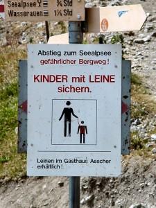 Gyerekpóráz használata túra közben